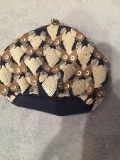 Anthropologie Ipa Nina Embellished Beaded Owl Clutch Or Coin Purse NWOT Rare Owl
