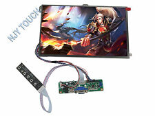 VGA LCD LVDS Controller Kit Plus 10.1 inch LP101WX1-SLP2 1280x800 IPS LED Panel