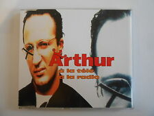 ARTHUR de TF1 : A LA TELE / A LA RADIO [ CD-MAXI PORT GRATUIT ]