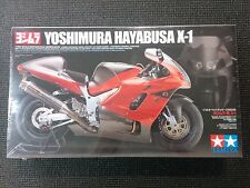 TAMIYA 1/12 Yoshimura Hayabusa X-1 Motorcycle Model Kit - 14093