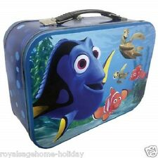 22755 Finding Nemo Large Tin Tote Lunch Box Container Disney Dory Crush Fish