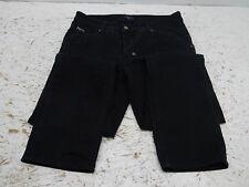 Ted Baker born Mens Black Jean Pants 30R button fly 30x29