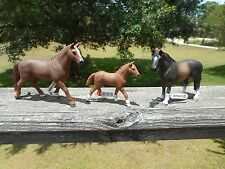 HANOVERIAN HORSE FAMILY by Schleich; toy/horse/13730/13729/13649