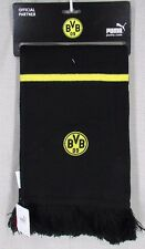 PUMA BORUSSIA DORTMUND Officially Licensed Football Soccer Scarf NEW NWT