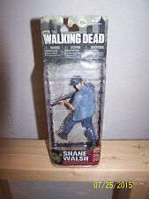2014 AMC The Walking Dead Series 5 Shane Walsh Flashback Figure New Head Sculpt