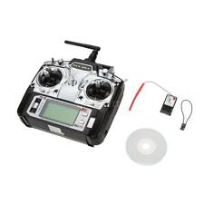Flysky FS-T6 2.4GHz 6CH Mode 2 Transmitter w/ Receiver R6-B for RC Quadcopter