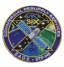 NASA Space X CRS 10 ISS Commercial Resupply Services Patch Made USA