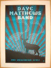 Dave Matthews Band Poster 10 Alpine Valley East Troy WI July 4th  #/1250 Rare