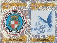 N°749 BADGE ECUSSON PRO VASTO # RAGUSA FIGURINE STICKER PANINI CALCIATORI 2005