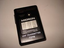 Micron Wireless TX716 Pocket Transmitter (223)