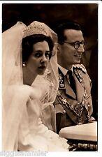 König Baudouin und Königin Fabiola 1960 AK Belgien Adel und Monarchie 1511789