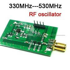 12V RF Voltage Controlled Oscillator Frequency Source Broadband VCO 330-530MHz