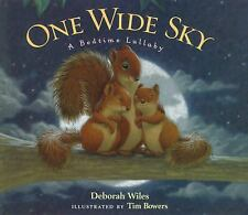 One Wide Sky: A Bedtime Lullaby-ExLibrary