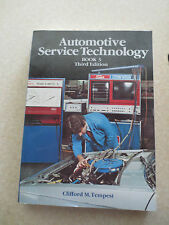 1980s Automotive Service Technology - Advanced Service Methods 80s TAFE textbook