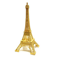 """Metal Eiffel Tower centerpiece or cake topper 19"""" silver gold bronze colors"""