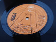 ABBA  ORIGINAL  1976  UK 45 TAKE A CHANCE ON ME    DEMO  RECORD NOT FOR SALE