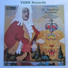 E POWER BIGGS - The Magificent Mr Handel - Excellent Con LP Record CBS 61230