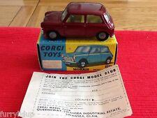 Corgi toys 226 Morris Mini Minor Mint Boxed