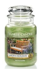 YANKEE CANDLE Garden Hideaway large 22oz Classic Jar