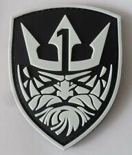 Medal of Honor : MOH Neptune LOGO PVC 3D Rubber   Patch Glow in the dark 1P