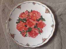 Royal Albert Plate Elizabeth of Glamis. The Queen Mothers Favourite Flowers .