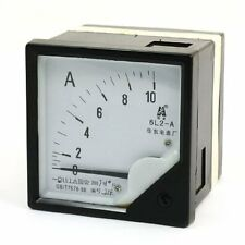 1Pcs Square Panel AC 0-10A Analog Meter Ammeter Pointer 6L2-A