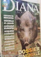 DIANA 23 1999 Dossier cinghiali Acquatici e coturnici Beccacia Pointer Marocco