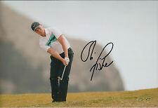 Oliver FISHER SIGNED 12x8 Photo AFTAL COA Autograph Madiera Open Golf