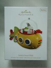 2012 Hallmark Keepsake Ornament Santa's Sweet Ride #6