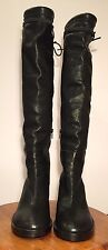 Ann Demeulemeester Black Knee High Boots 36.5