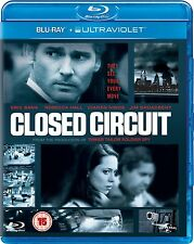 Closed Circuit (Blu-ray, 2014) and UltraViolet  Brand new and sealed