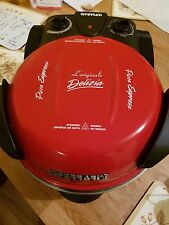 G3 Ferrari Electric Pizza Oven -- Red With Stone Base -- 1200w