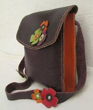 Très beau et original sac à main en cuir  TBEG vintage bag