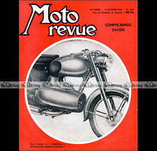MOTO REVUE N°1310 AGF 125 REACTEUR ★ ROYAL ENFIELD 700 SUPER METEOR ★ SALON 1956