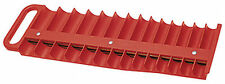 "PLASTIC 3/8"" DR DRIVE MAGNETIC SOCKET ORGANIZER STORAGE RACK HOLDER TRAY TOOL"
