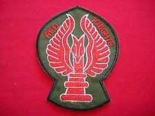 1st Lift Platoon RED KNIGHTS 114th Assault Helicopter Company Vietnam War Patch