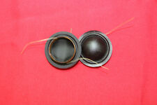 2 pieces ID:26mm silk diaphragm dome Tweeters speaker voice coil -100% new