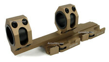 SNIPER Chooes New (Tan) LT Style Tactical QD Mount Fits 25mm/30mm bodies Scope