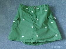 Pantalones cortos Niñas Falda Verde Con debajo-edad 6-Daisy Flor Motif