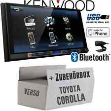 Toyota Corolla Verso schwarz Kenwood Bluetooth USB MP3 TFT Auto Radio Set PKW