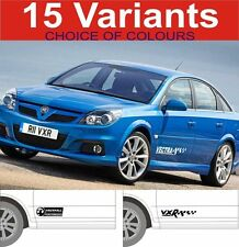 vauxhall vectra decals stickers GSI VXR SXI SRI 2off graphics 15 designs
