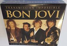 BON JOVI TRANSMISSION IMPOSSIBLE (2015) BRAND NEW SEALED LIVE PERFORMANCES 3CD