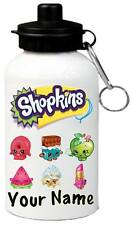 Shopkins Personalised Kids/Drinks/Sports Waterbottle