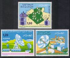 Algérie 1975 télécommunications par satellite/radio/communications 3v set (n39219)