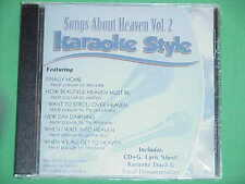 Songs About Heaven~#2~Christian~Daywind~Karaoke Style~~New Day Dawning~~CD+G~New