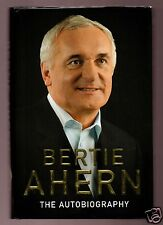 FORMER IRISH PRIME MINISTER BERTIE AHERN SIGNED 1ST HB VERY GOOD CONDITION
