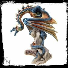 "Nemesis Now Andrew Bill Grim Guardian Dragon Resin Figurine 21.5cm (8.25"")"