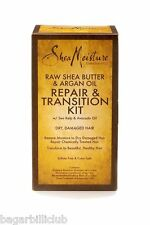 SHEA MOISTURE RAW SHEA BUTTER& ARGAN OIL REPAIR & TRANSITION KIT