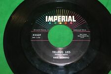 FATS DOMINO - WHEN THE SAINTS GO MARCHING IN / TELLING LIES - IMPERIAL 45