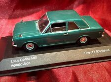 Lledo Lotus Cortina Mark 2 Die Cast Numbered Issue With Stand